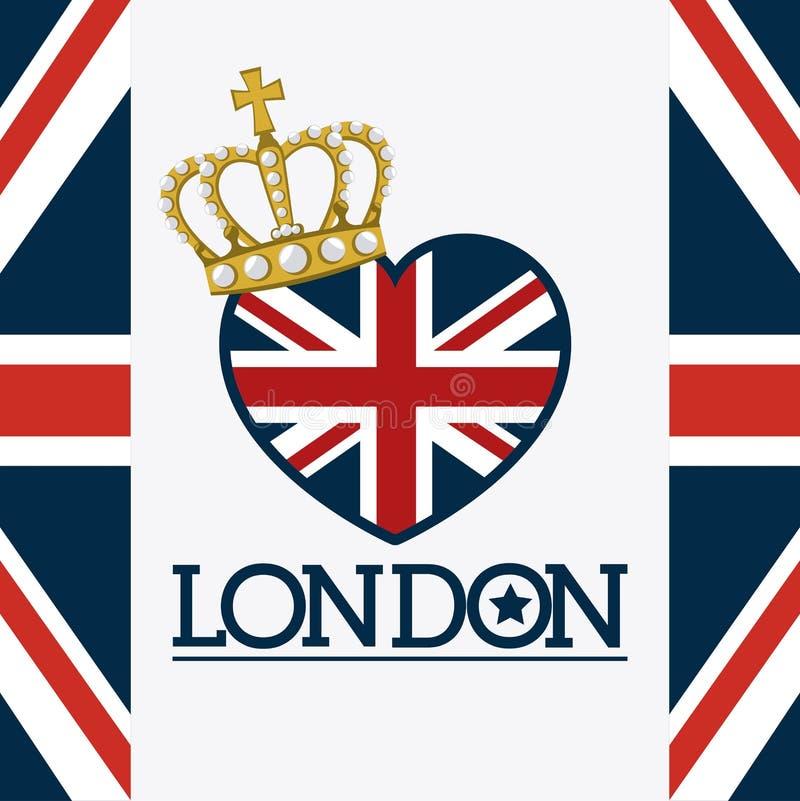Diseño de Londres stock de ilustración