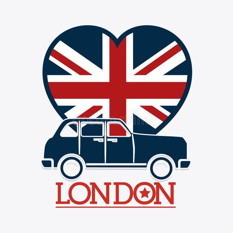 Diseño de Londres ilustración del vector