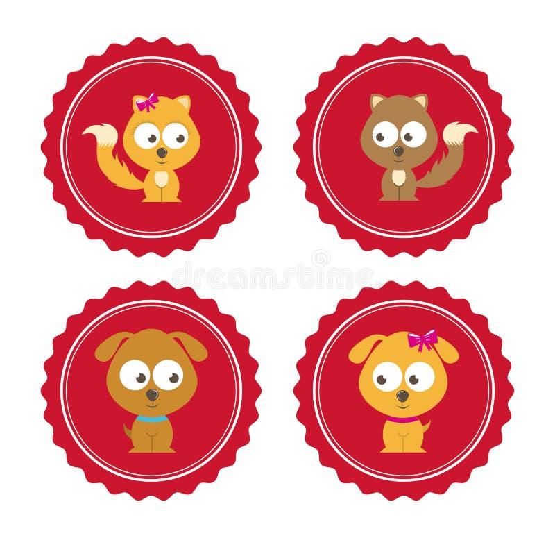 Download Diseño De Los Animales Domésticos Ilustración del Vector - Ilustración de mascota, lindo: 42427051
