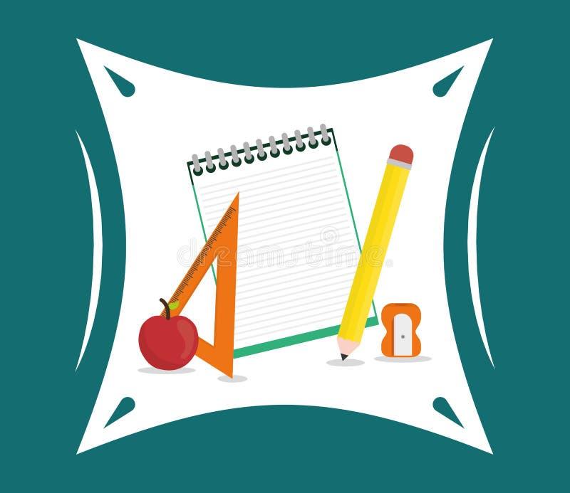 Download Diseño De Los Iconos De La Educación Ilustración del Vector - Ilustración de estudiante, elementos: 64200197