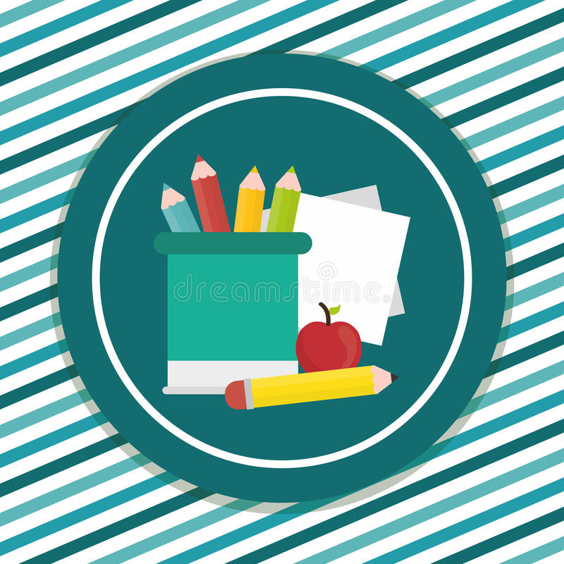 Download Diseño De Los Iconos De La Educación Ilustración del Vector - Ilustración de estudio, schoolkid: 64200198