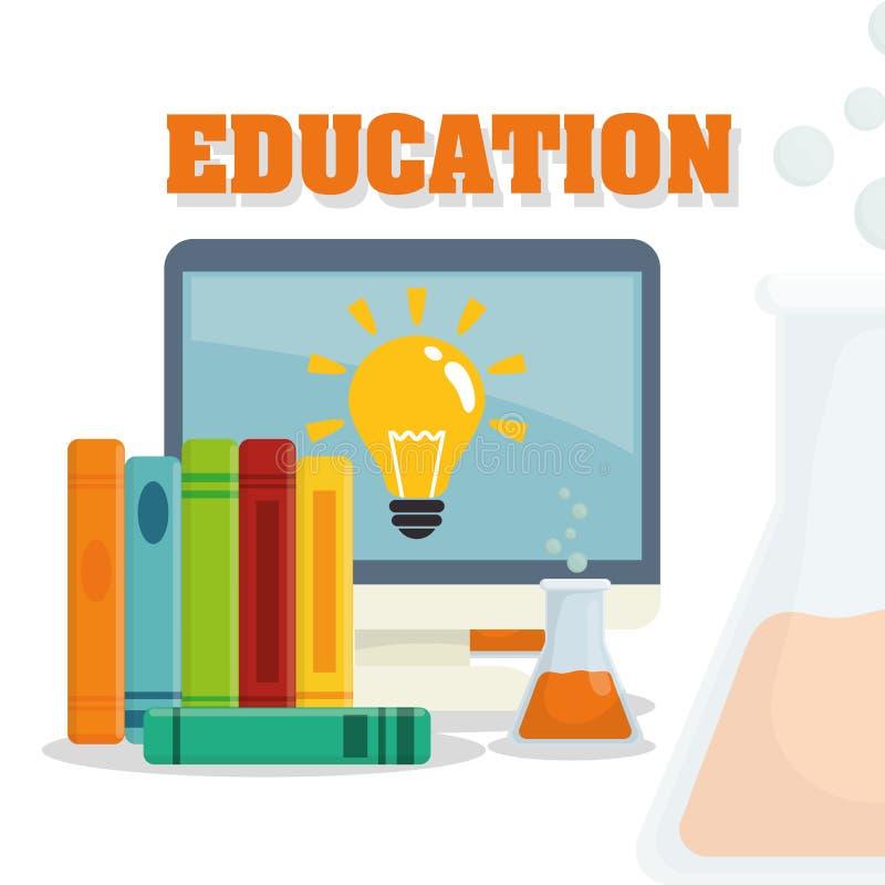 Download Diseño De Los Iconos De La Educación Ilustración del Vector - Ilustración de fresco, conocimiento: 64200554