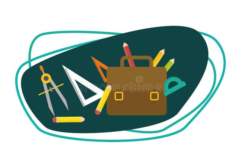 Download Diseño De Los Iconos De La Educación Ilustración del Vector - Ilustración de expresión, símbolos: 64200638