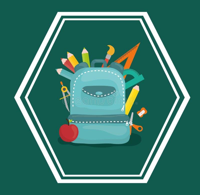 Download Diseño De Los Iconos De La Educación Ilustración del Vector - Ilustración de fresco, classroom: 64200967