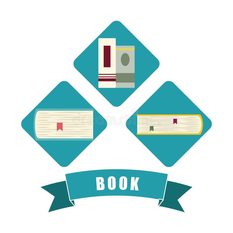 Download Diseño De Los Iconos Del Libro Y Del Aprendizaje Electrónico Ilustración del Vector - Ilustración de media, información: 64200181
