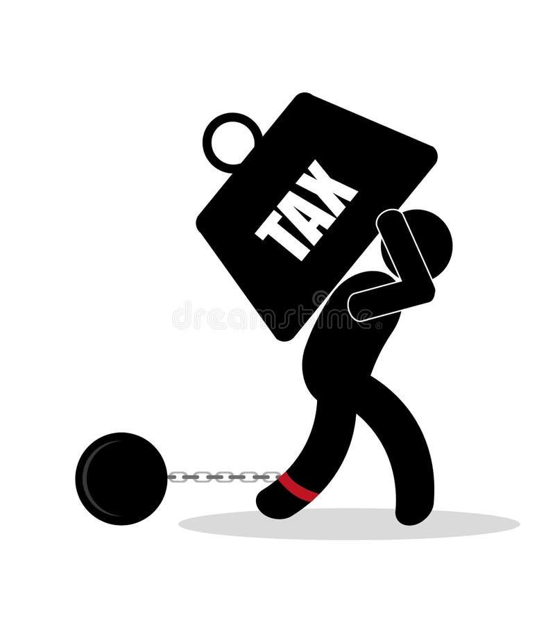 Diseño de los impuestos libre illustration