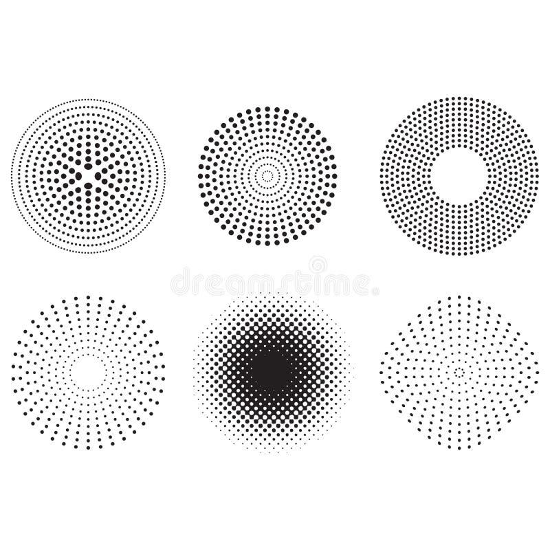 Diseño de los puntos imagen de archivo libre de regalías
