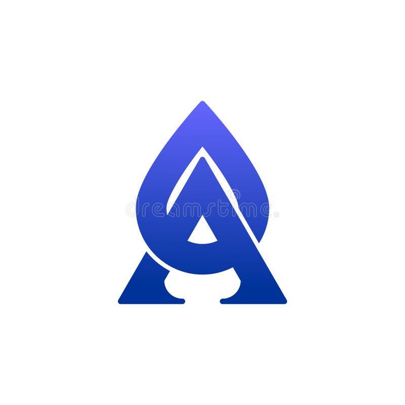Diseño de lujo del vector del gas y del aceite del icono ilustración del vector