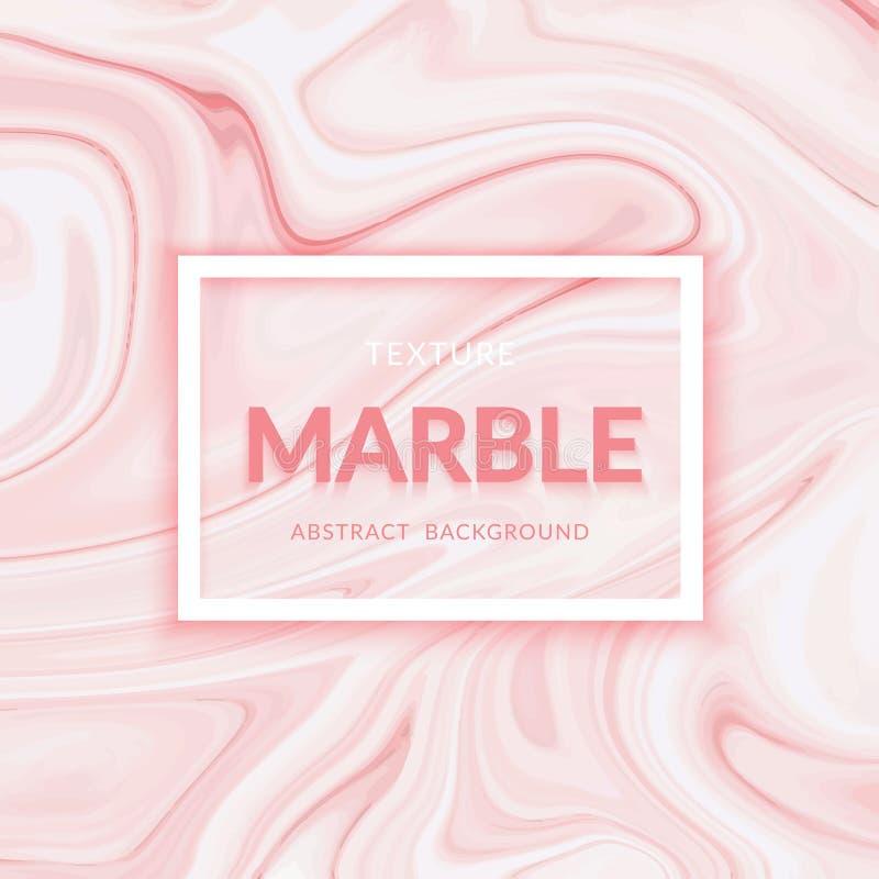 Diseño de mármol líquido de la textura Pinte el chapoteo Líquido colorido Diseño abstracto vibrante de la pintura ilustración del vector