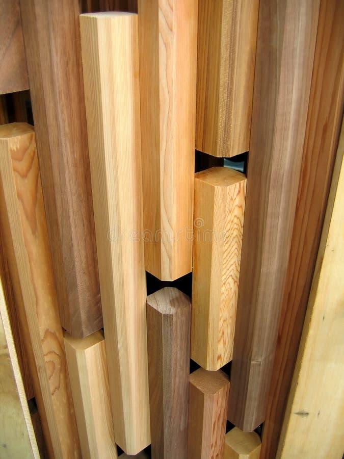 Diseño de madera del modelo foto de archivo