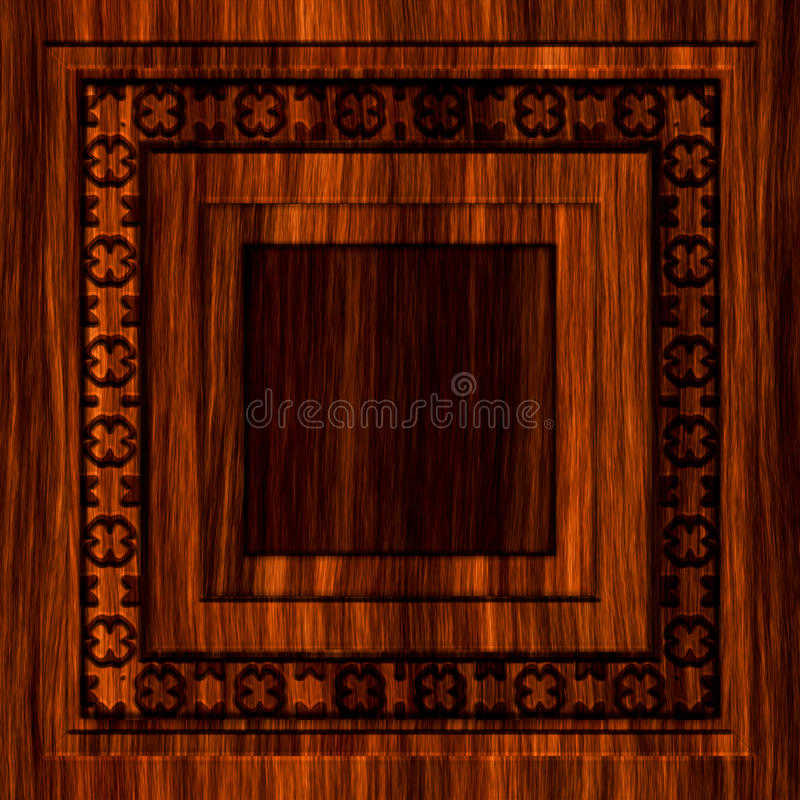 Diseño de madera inconsútil ilustración del vector