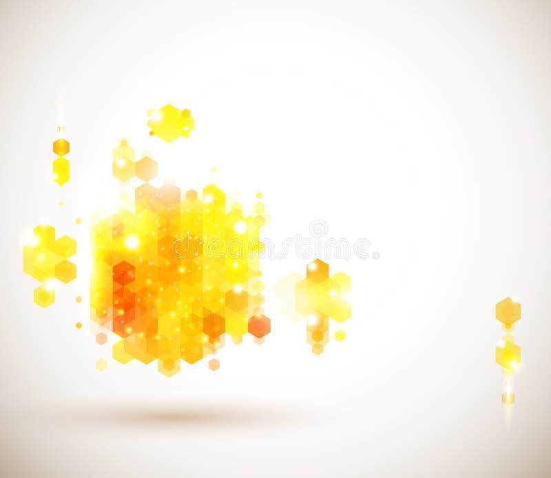 Diseño de página brillante y soleado para su presentación. libre illustration
