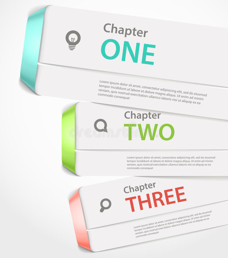 Diseño de papel de la paginación del Web site stock de ilustración