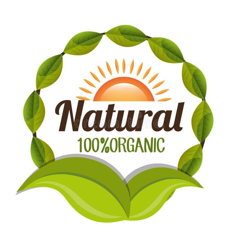 Diseño de producto natural stock de ilustración