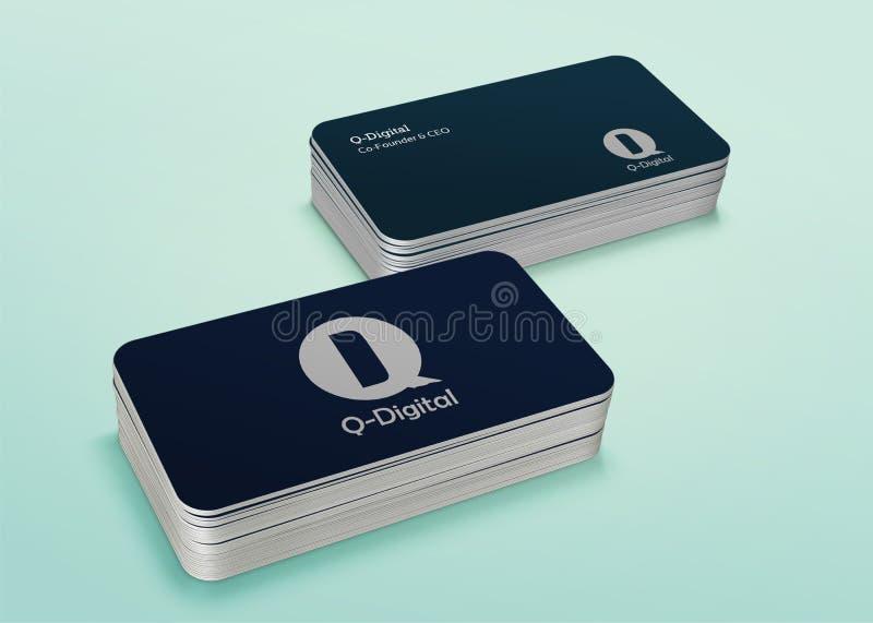 Diseño de tarjeta fotografía de archivo libre de regalías