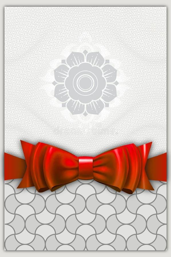 Diseño de tarjeta del regalo ilustración del vector