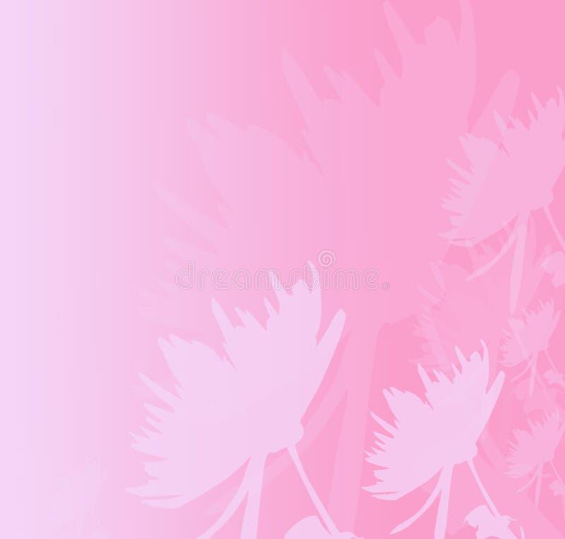 Diseño de tarjeta floral de Romatic libre illustration