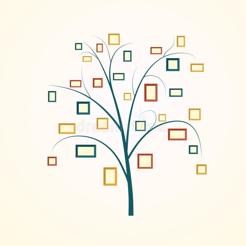 Diseño del árbol de familia libre illustration