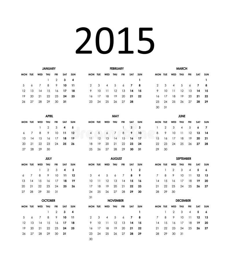 Download Diseño del Año Nuevo ilustración del vector. Ilustración de calendario - 41912089