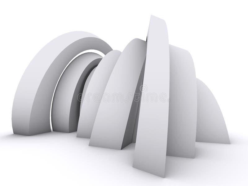 Diseño del arco libre illustration