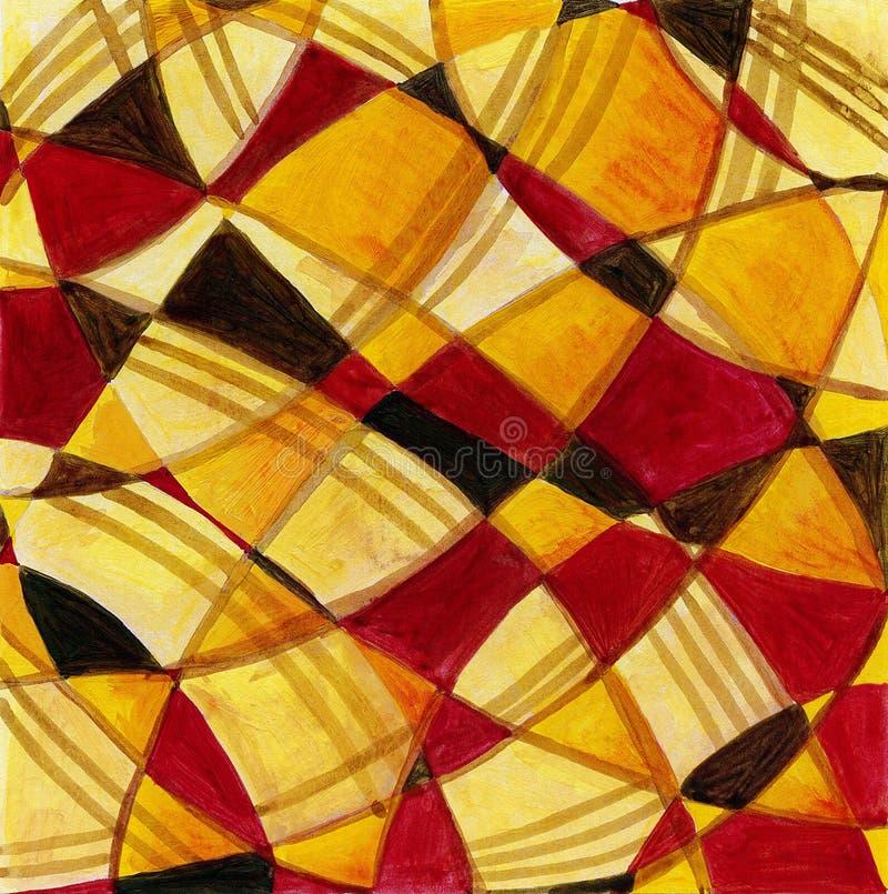 Diseño del arte abstracto fotos de archivo