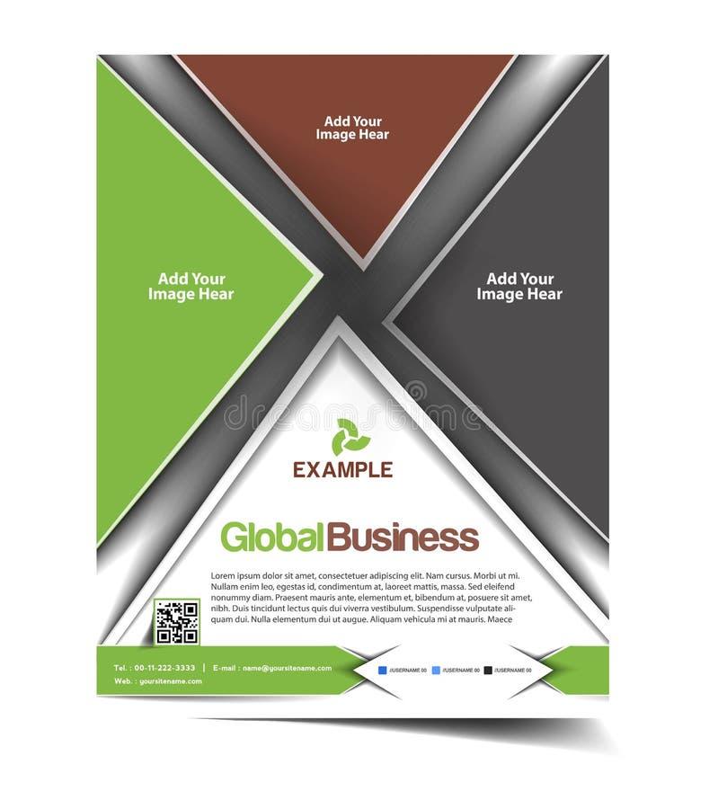 Diseño del aviador del negocio global libre illustration