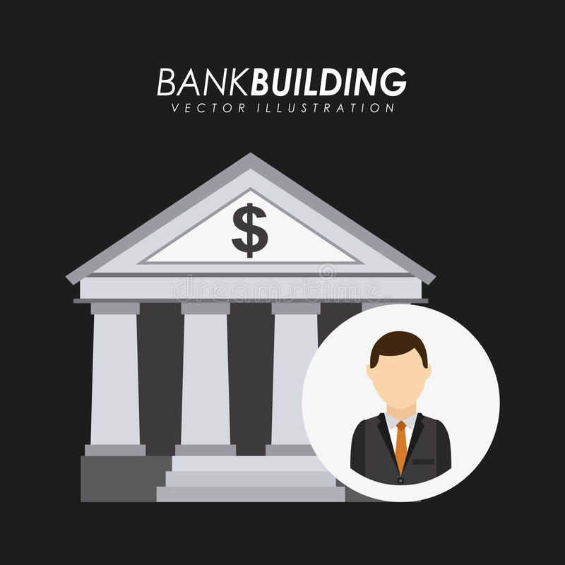 Download Diseño del banco ilustración del vector. Ilustración de fortuna - 41912120