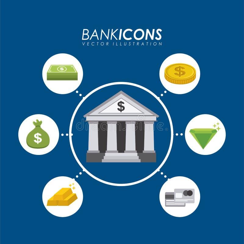 Download Diseño del banco ilustración del vector. Ilustración de éxito - 41912121