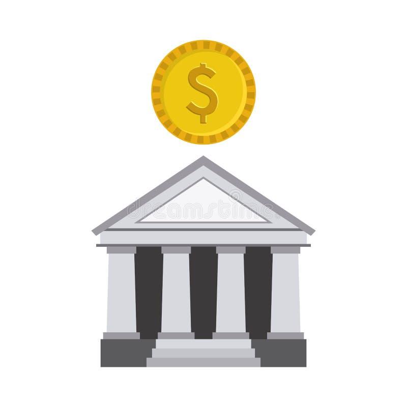 Download Diseño del banco ilustración del vector. Ilustración de cuenta - 41912122