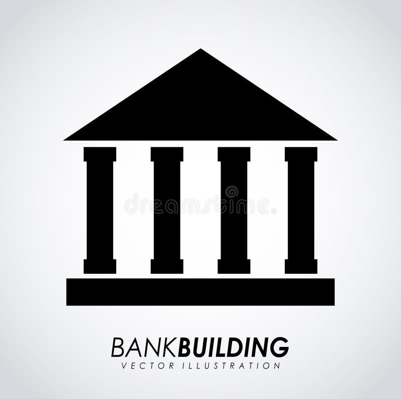 Download Diseño del banco ilustración del vector. Ilustración de inversión - 41912125