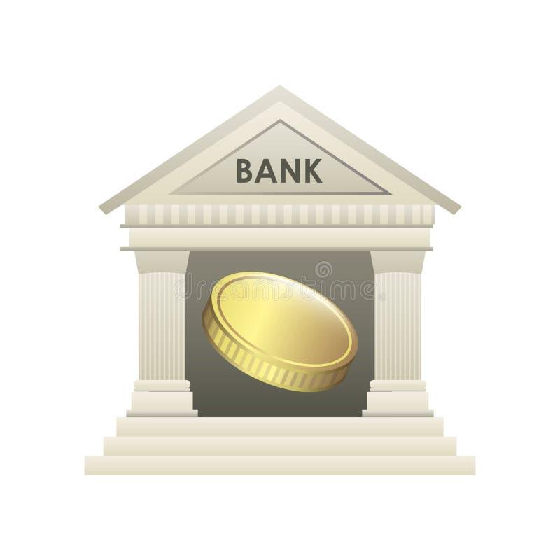 Download Diseño del banco ilustración del vector. Ilustración de financiero - 41912132