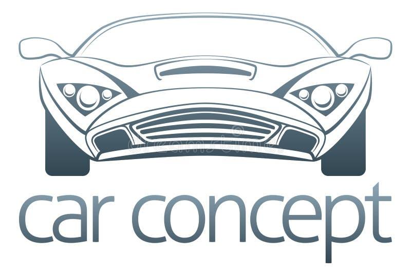 Diseño del coche de deportes libre illustration