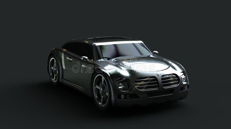 Diseño del coche del concepto fotografía de archivo