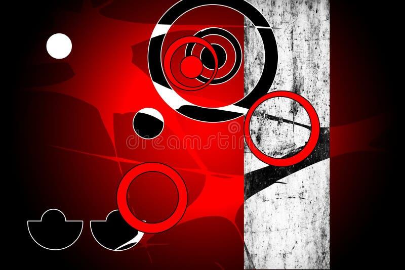Diseño del color de la abstracción stock de ilustración