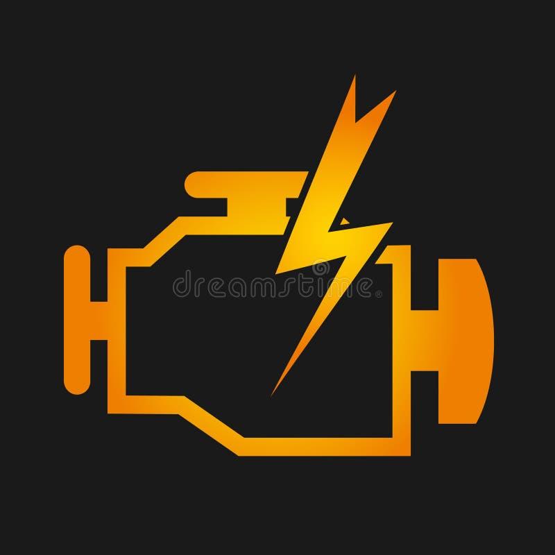 Diseño del control del motor libre illustration