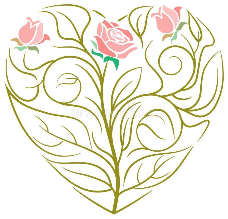Diseño del corazón ilustración del vector