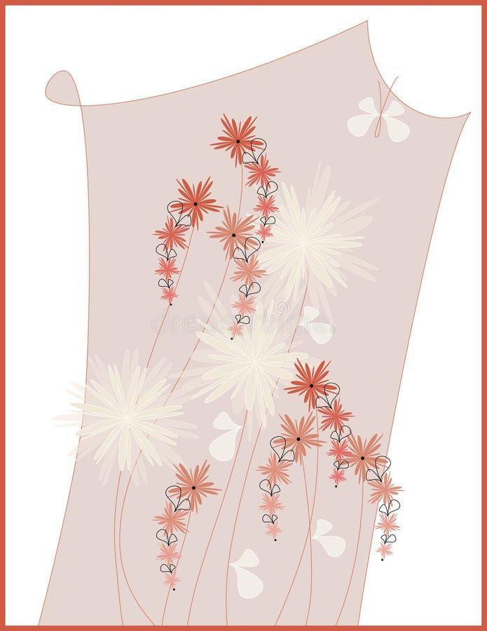 Download Diseño del cuadro floral stock de ilustración. Ilustración de decorativo - 7283298