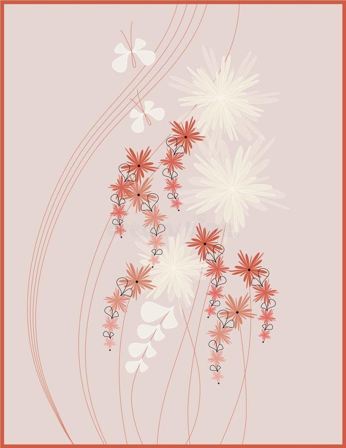 Download Diseño del cuadro floral stock de ilustración. Ilustración de lindo - 7283324