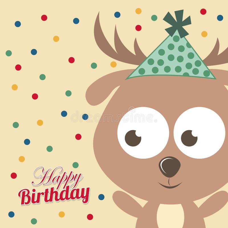 Download Diseño del cumpleaños ilustración del vector. Ilustración de celebración - 42427054