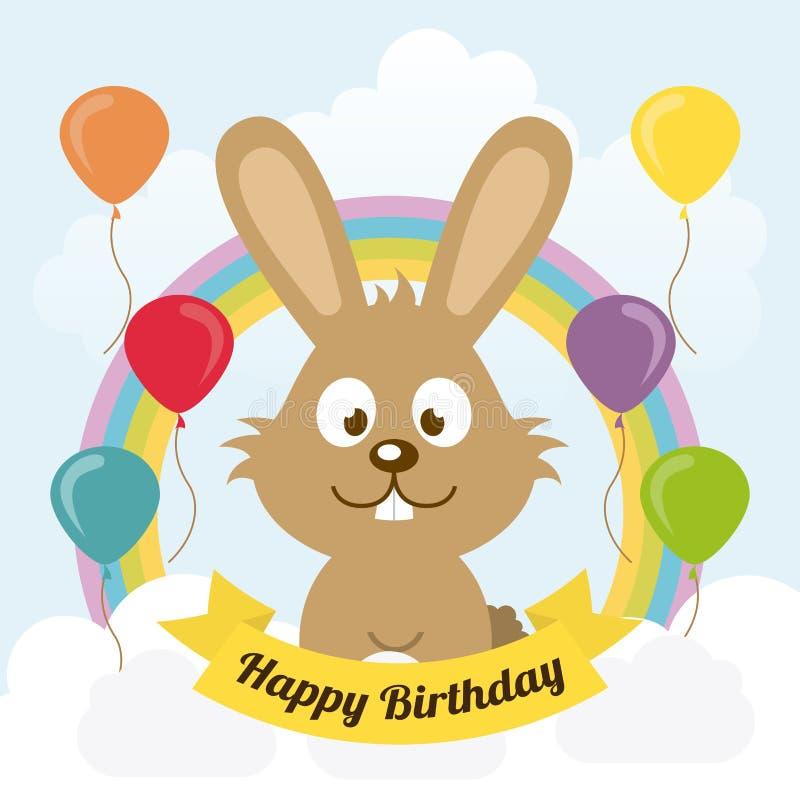 Download Diseño del cumpleaños ilustración del vector. Ilustración de lindo - 42427167