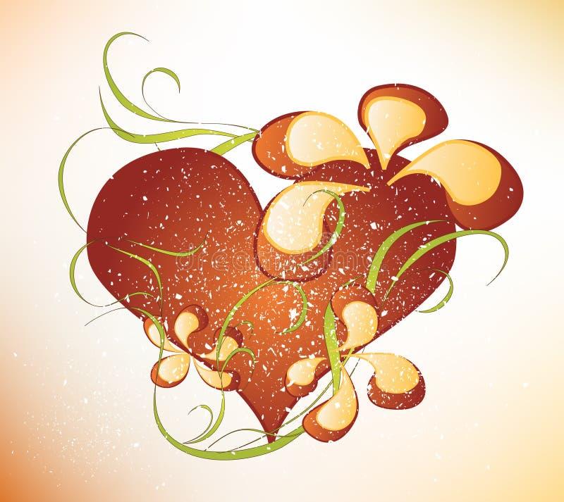 Diseño del día de tarjetas del día de San Valentín ilustración del vector
