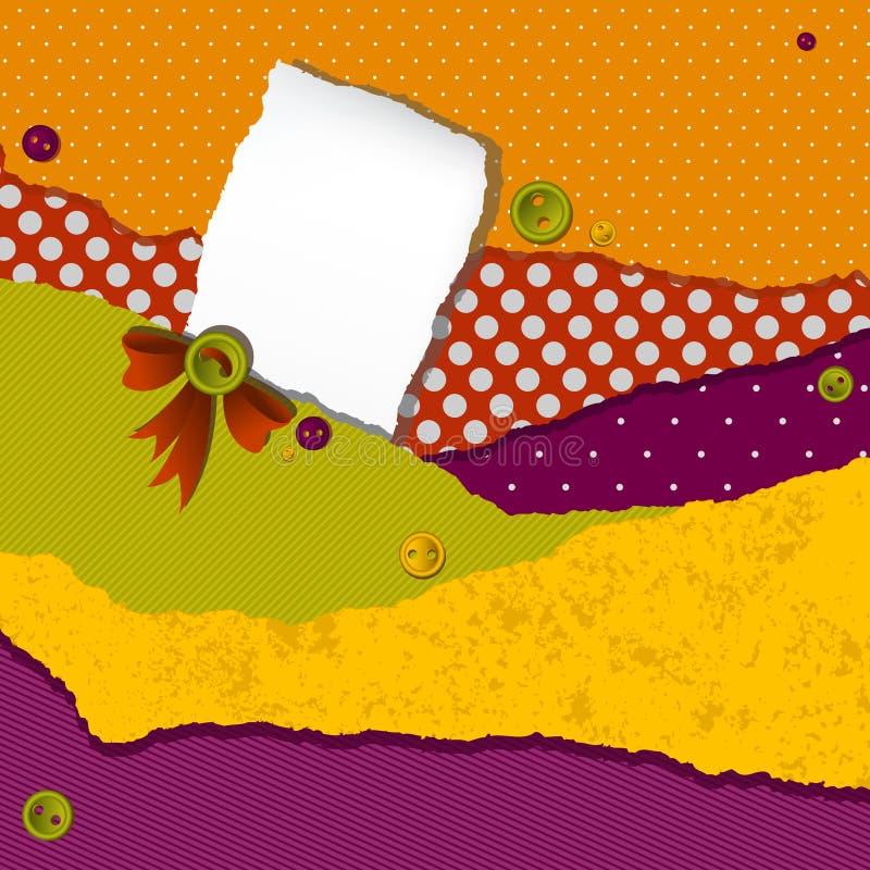 Diseño del desecho de la vendimia stock de ilustración