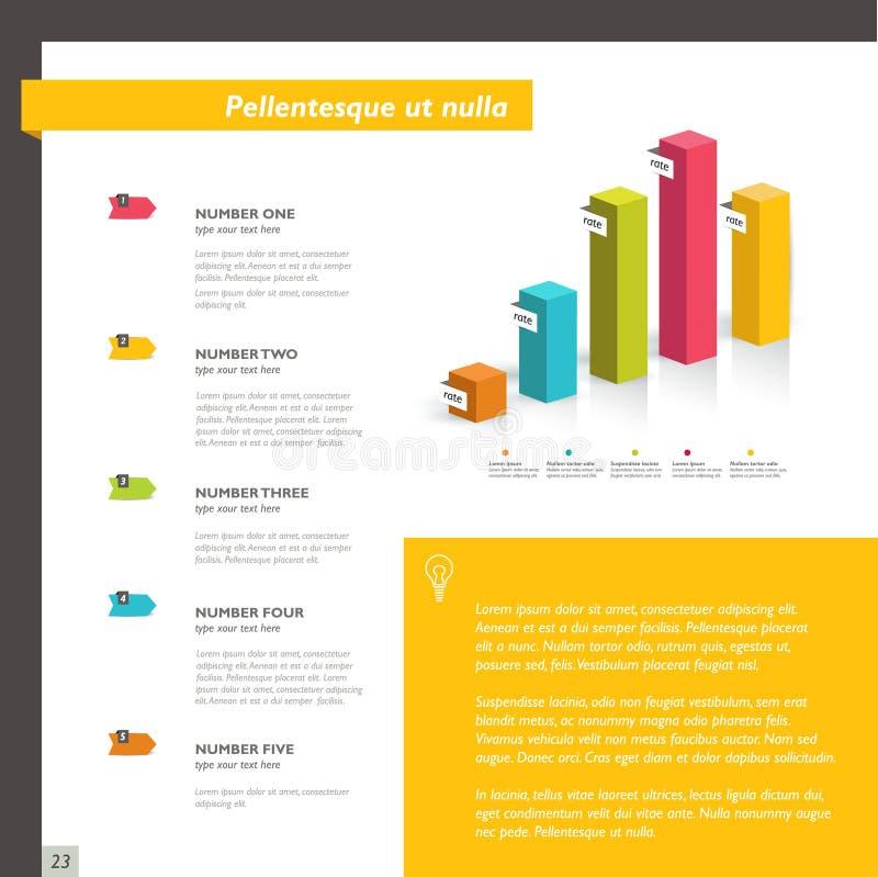 Download Diseño Del Diseño De Página Ilustración del Vector - Ilustración de librete, negocios: 42443790