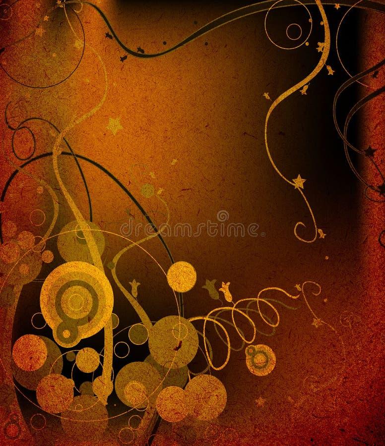 Diseño del extracto de Grunge stock de ilustración