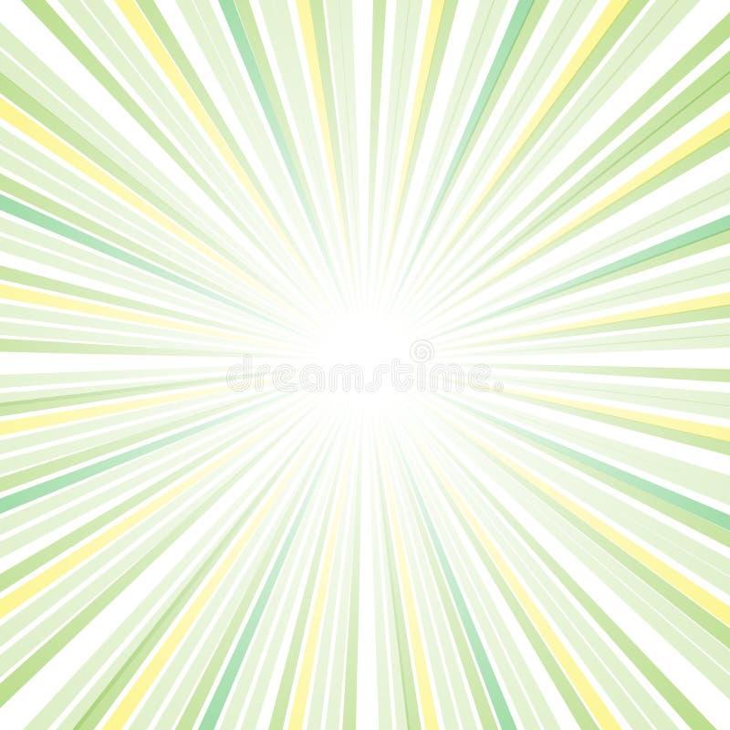 Diseño del extracto del rayo de Sun stock de ilustración