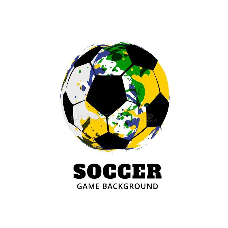 Download Diseño Del Fútbol Del Fútbol Del Brasil Ilustración del Vector - Ilustración de hermoso, círculo: 41919462