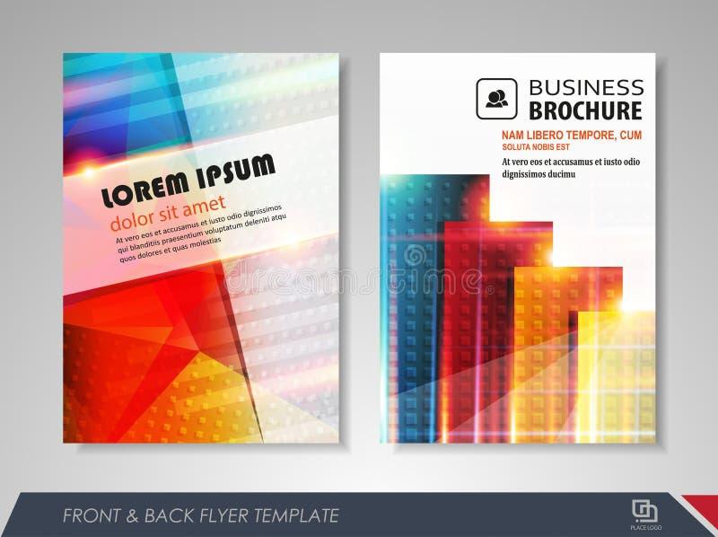 Diseño del folleto libre illustration