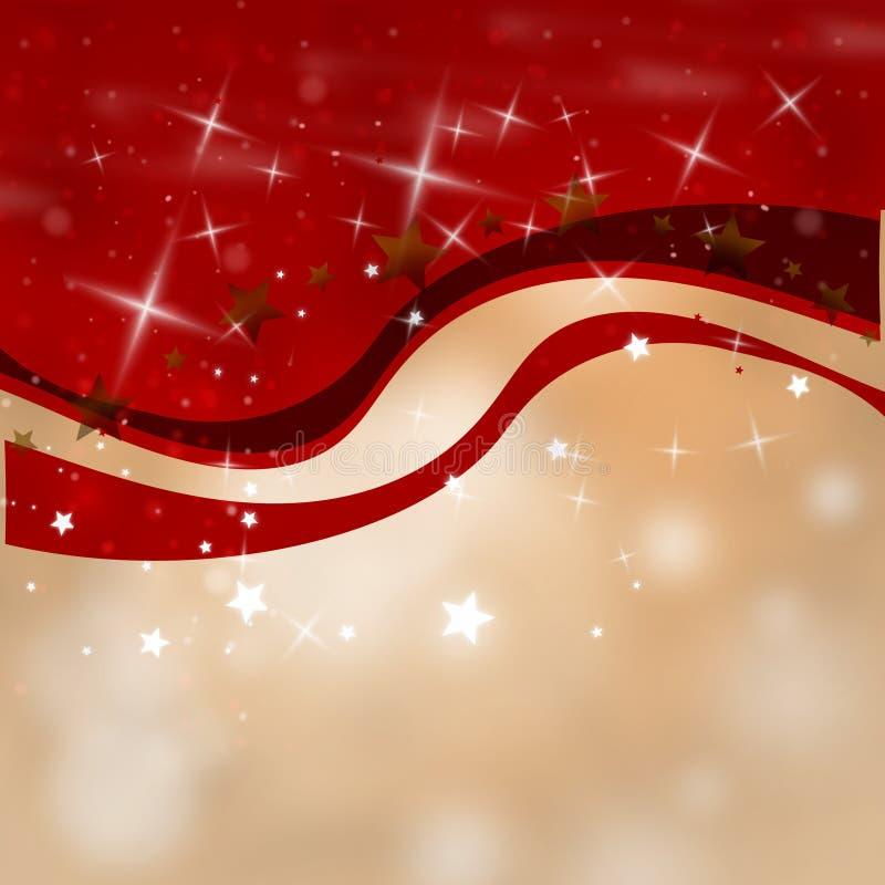 Diseño del fondo de la Navidad stock de ilustración