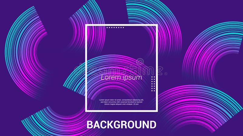 Diseño del fondo de la web, diseño moderno, página de aterrizaje, EPS 10 stock de ilustración