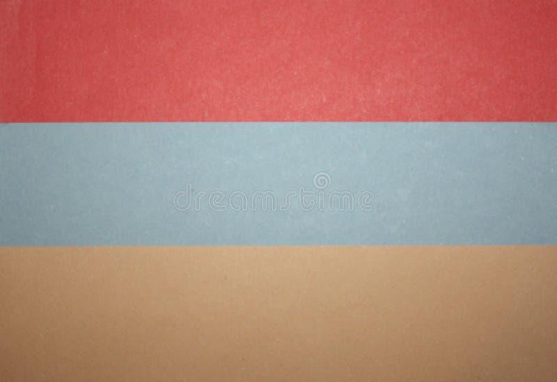 Diseño del fondo de las rayas de la cinta de los papeles coloreados del árbol fotografía de archivo libre de regalías